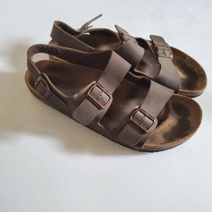 Birkenstocks milano sandals
